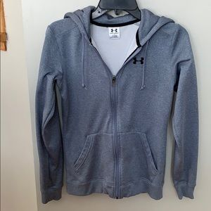 Under armor zip up hoodie